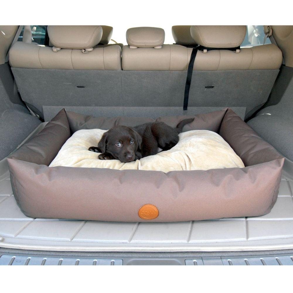 Travel Dog Bed >> K H Pet Products Travel Suv Small Tan Pet Bed
