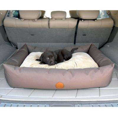 Travel/SUV Small Tan Pet Bed