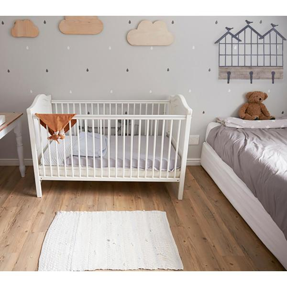 Superb Weston 27 In X 24 In Metal Wall Shelf With Hooks Interior Design Ideas Clesiryabchikinfo