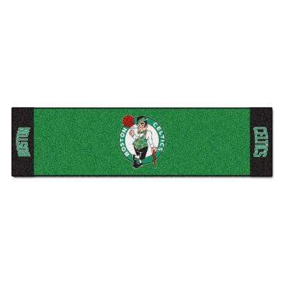 NBA Boston Celtics 1 ft. 6 in. x 6 ft. Indoor 1-Hole Golf Practice Putting Green
