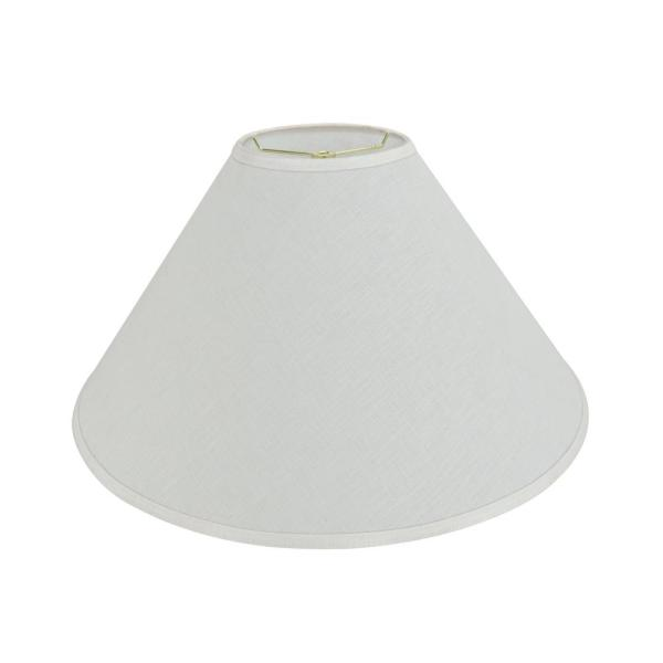 Aspen Creative Corporation 23 In X 14 In Off White Hardback Empire Lamp Shade 32591 The Home Depot