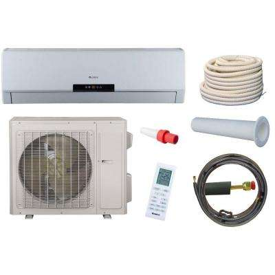 Neo 30,000 BTU 2.5 Ton Ductless Mini Split Air Conditioner and Heat Pump Kit - 208-230V/60Hz