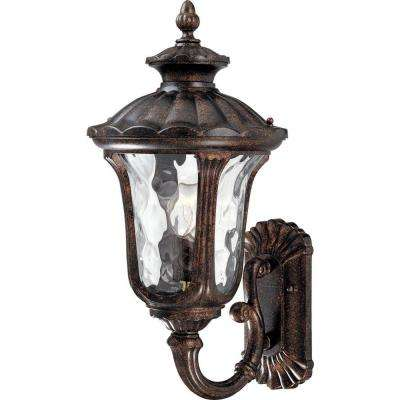 1-Light Vintage Bronze Outdoor Wall Mount