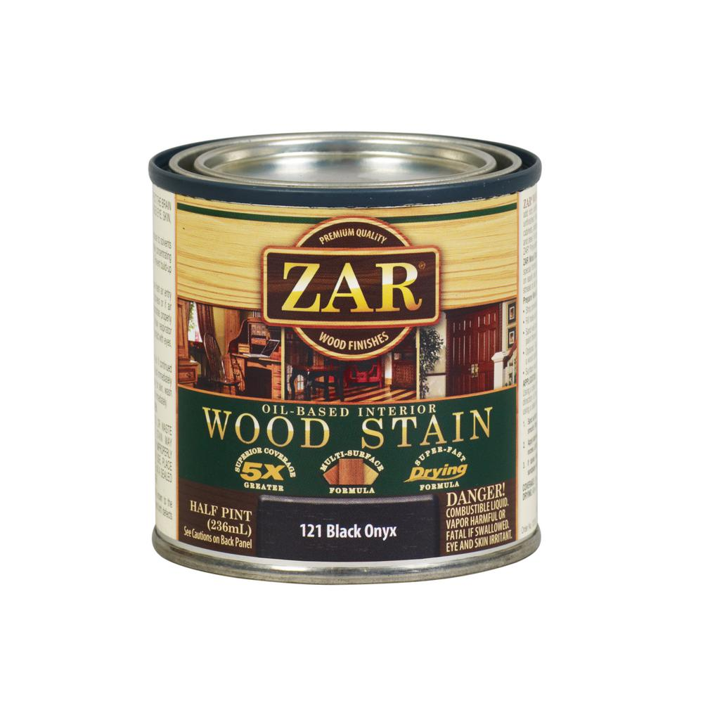 ZAR 8 oz. Black Onyx Wood Interior Stain (2-Pack)