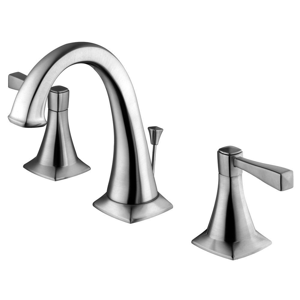 Design House Perth 8 in. Widespread 2-Handle Bathroom Faucet in ...
