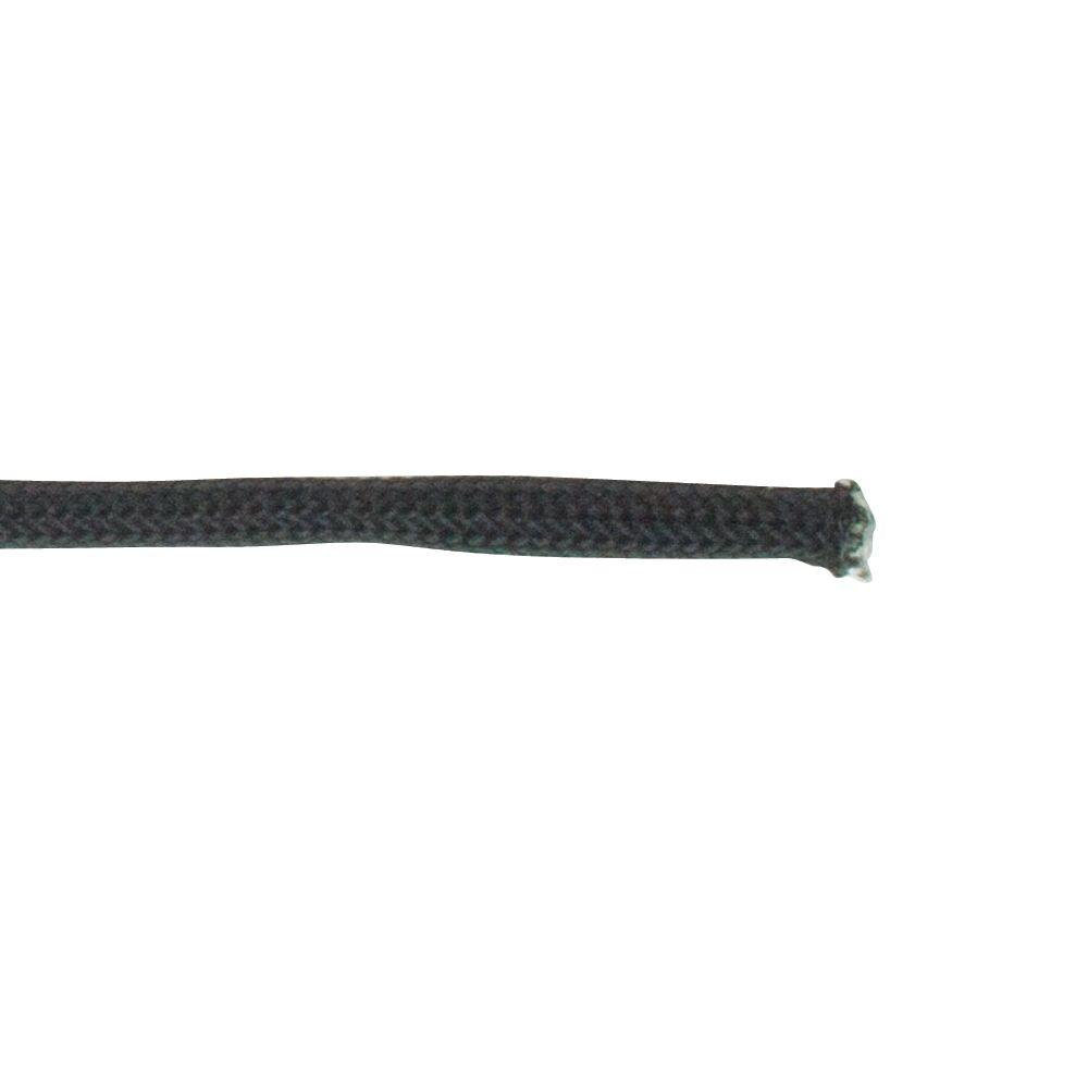 Crown Bolt 1/8 in. x 1 ft. Paracord, Black