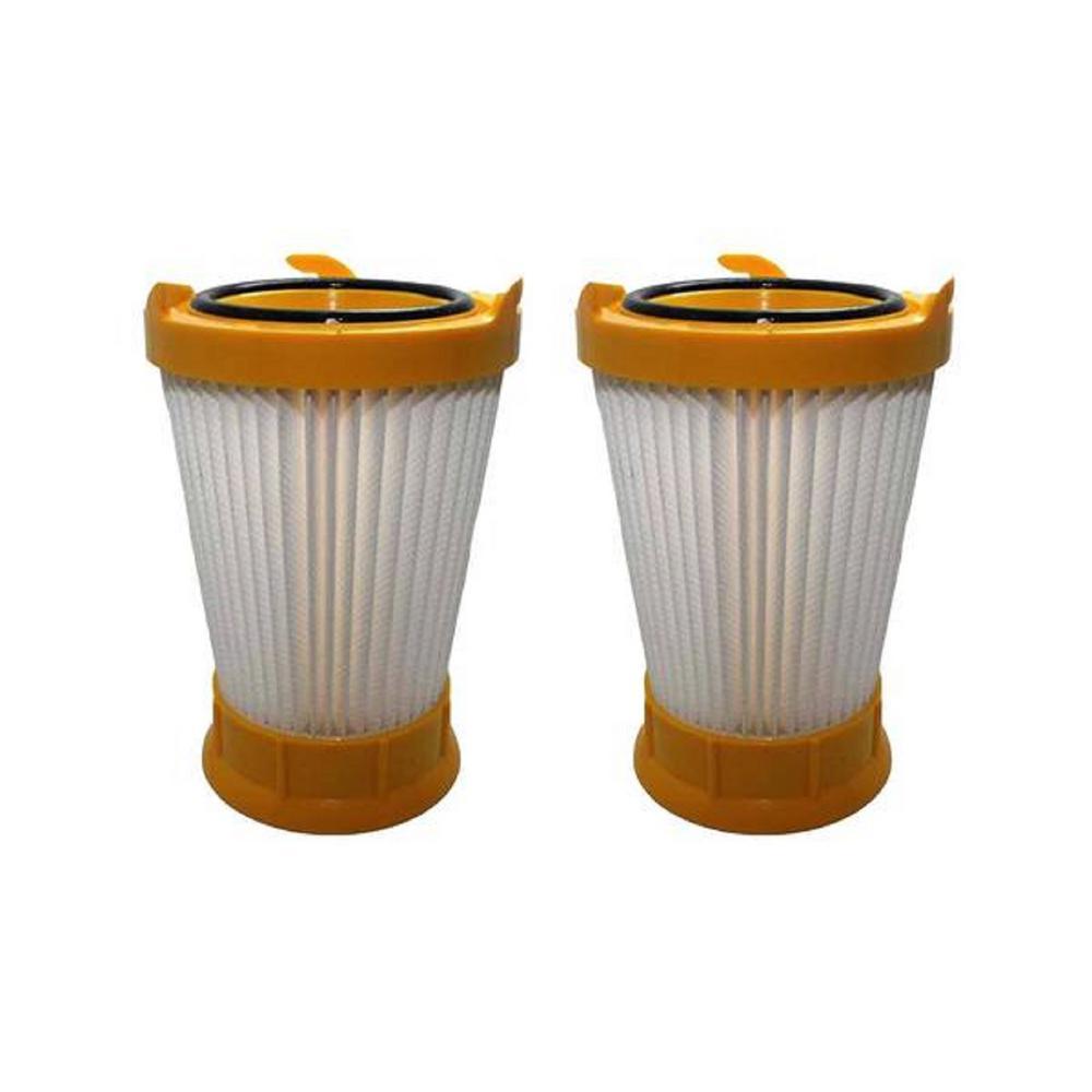 Eureka HEPA Style Filters Replacement for Eureka DCF2 Part 61805, ER18155, 70855-33n (2-Pack)