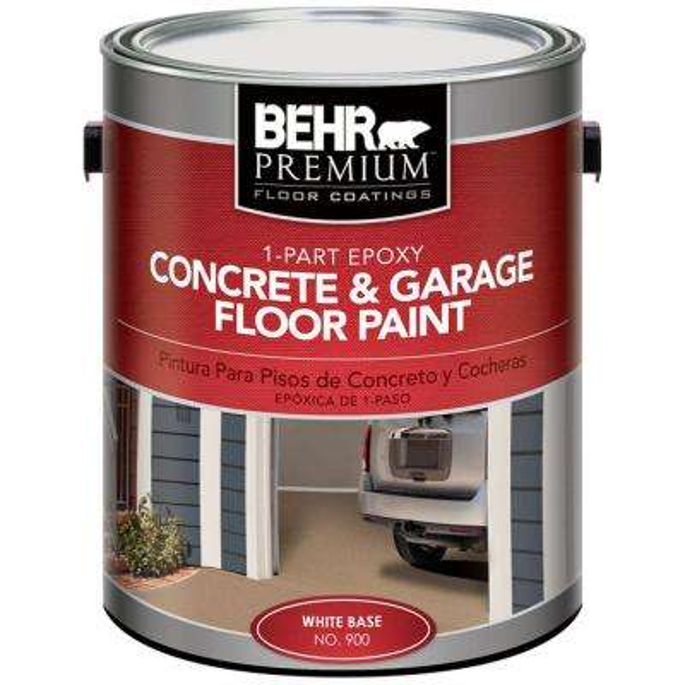 1 gal. Satin 1-Part Epoxy Acrylic Concrete and Garage Floor Paint