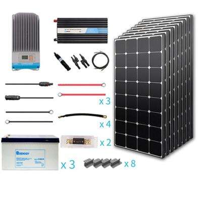 800-Watt Eclipse Off-Grid Complete Kit with Mono Inverter Charge Controller