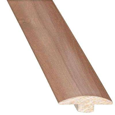 Birch American Silvered 5/8 in. Thick x 2 in. Wide x 78 in. Length Hardwood T-Molding