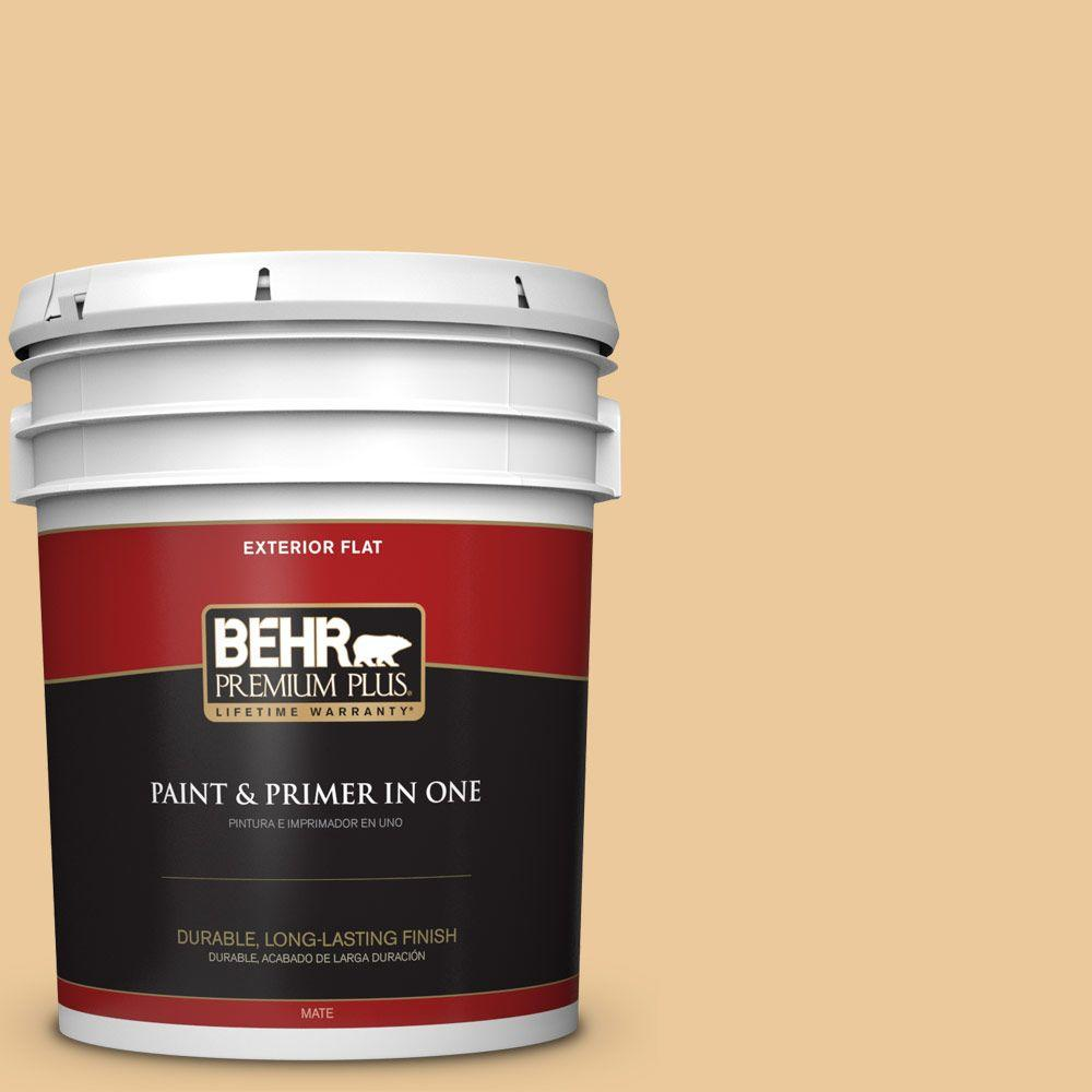 5-gal. #M270-4 Filtered Moon Flat Exterior Paint