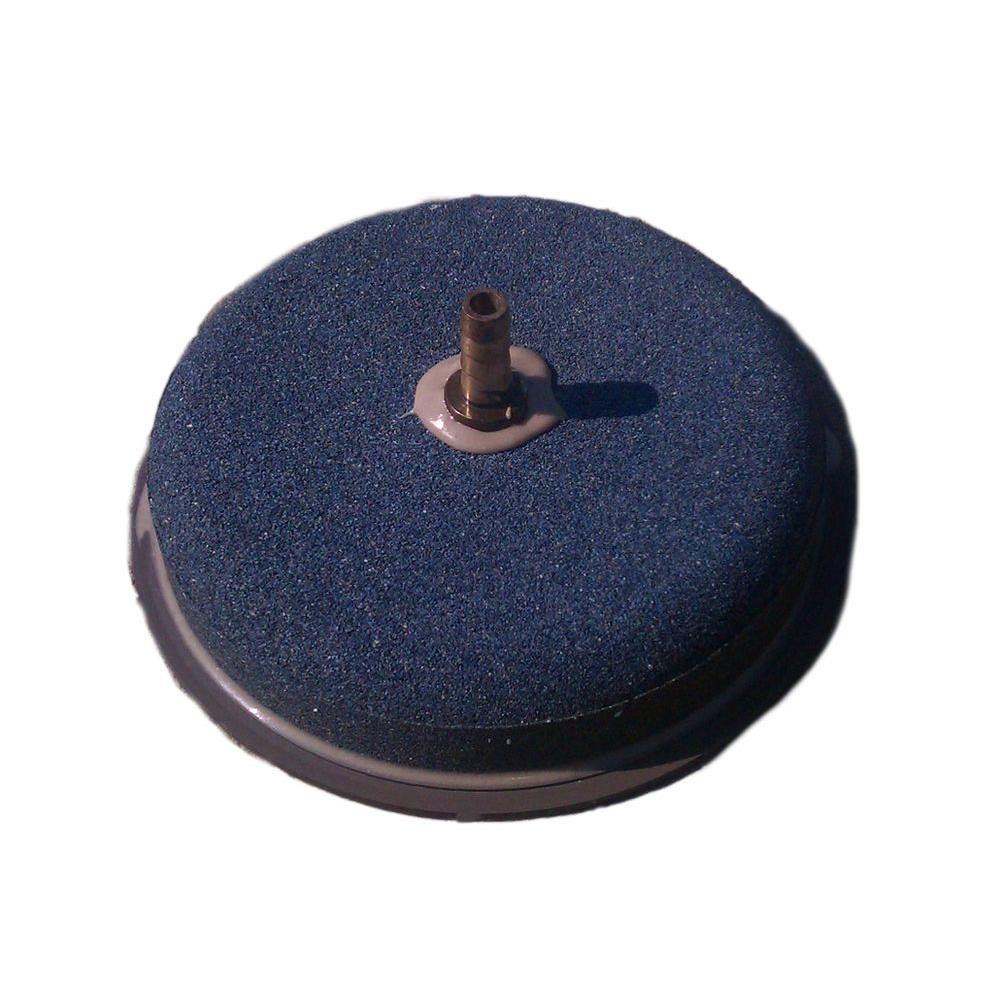 Outdoor Water Solutions 7 in. Diffuser Airstone with Backflow Valve ...