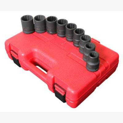 3/4 in. Drive 12-Point SAE Thin Wall Impact Socket Set