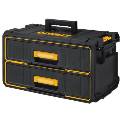 TOUGHSYSTEM 22 in. Water Seal 2-Drawer Tool Box
