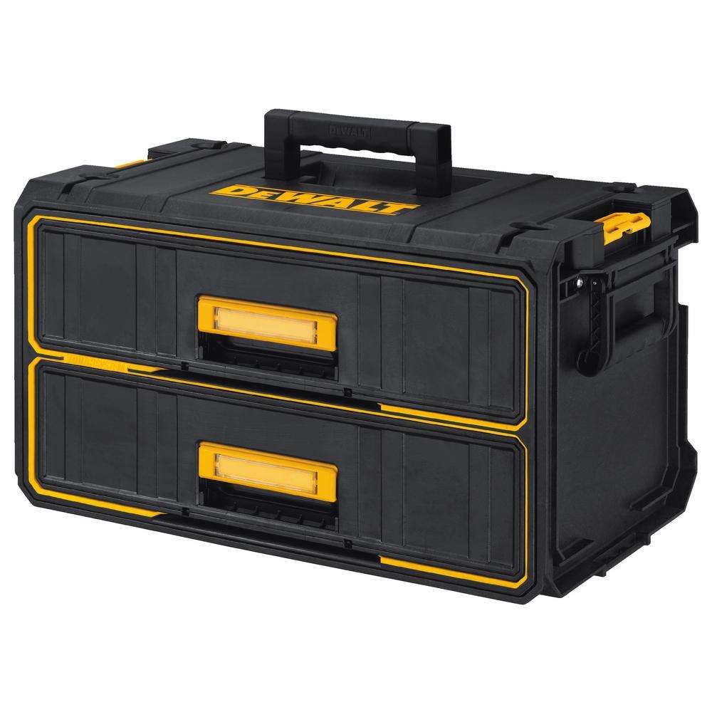 ToughSystem 22 in. Water Seal 2-Drawer Tool Box