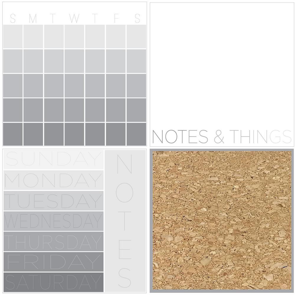 Mondrian Organization Kit Wall Decals