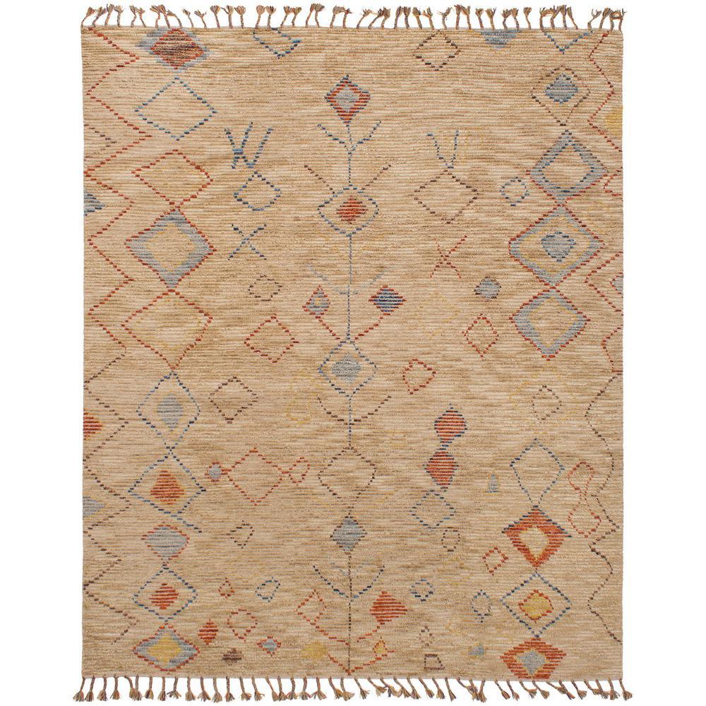 Ecarpet Gallery Tangier Tan 8 Ft X 10 Indoor Area Rug