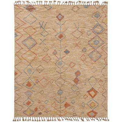 Tangier Tan 8 ft. x 10 ft. Indoor Area Rug