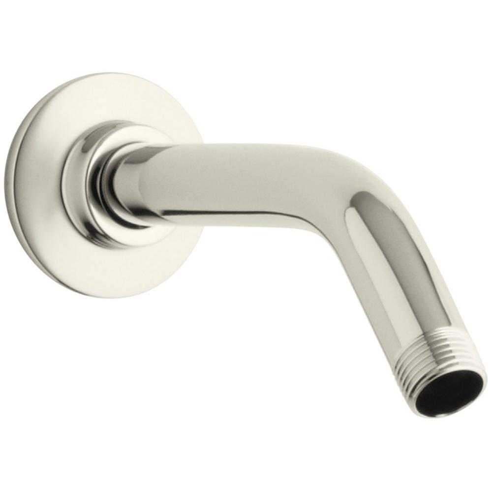 Polished Nickel Shower Rod.Kohler Polished Nickel Shower Curtain Rod