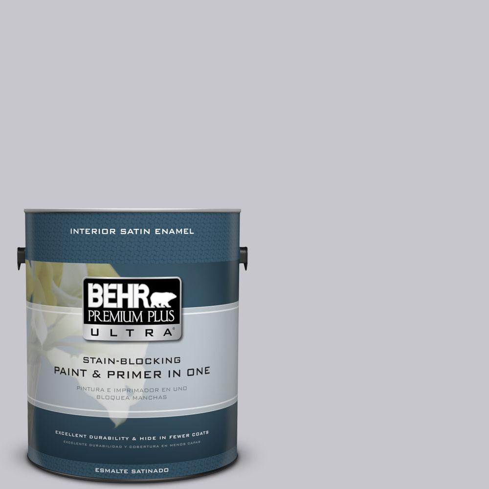 1 gal. #N550-2 Centre Stage Satin Enamel Interior Paint and Primer