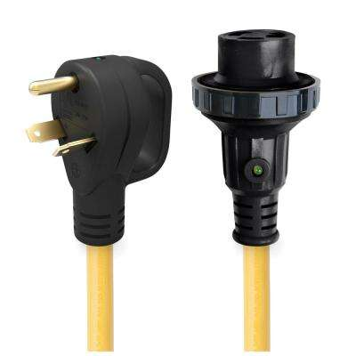 30 Amp Detachable Power Cord with Handle and Indicator Light