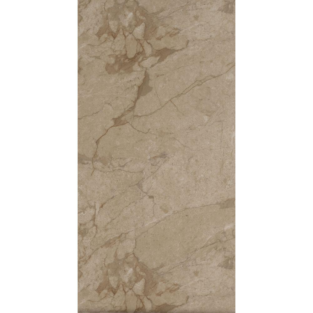 Trafficmaster Allure Ultra 12 In X 23 82 In Carrara Tan