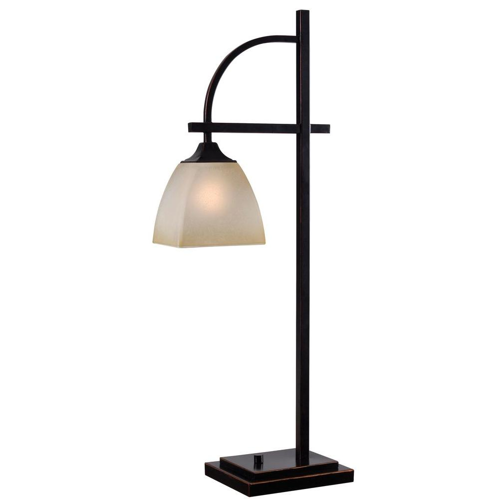 Arch 28 In Oil Rubbed Bronze Table Lamp 32290orb The Home Depot