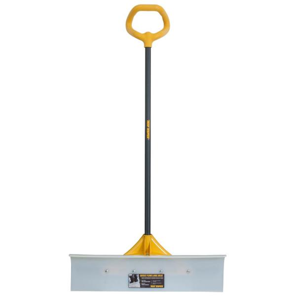30 in. Industrial Grade Snow Pusher with Versa Grip