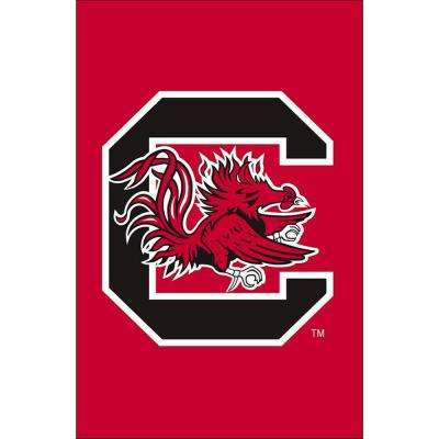 NCAA 12-1/2 in. x 18 in. South Carolina 2-Sided Garden Flag