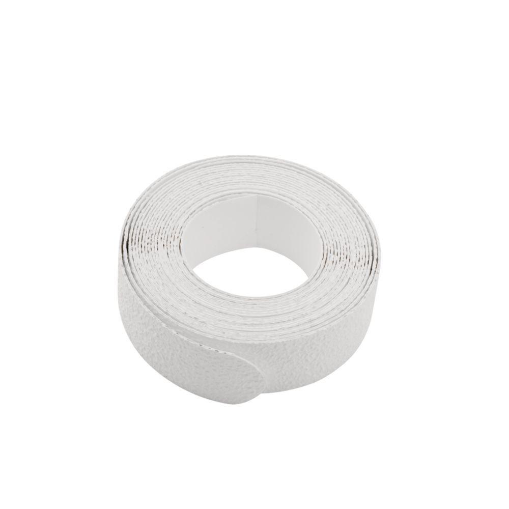 Non Slip Tread Strips in White (6-Pack)
