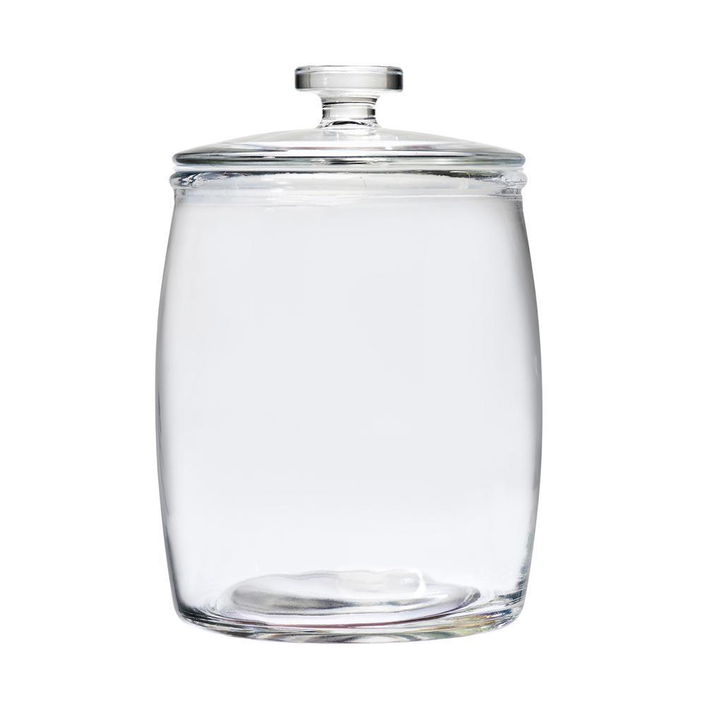 7240e6e86c4b Milk Street 140 oz. Glass Storage Jar with Glass Lid