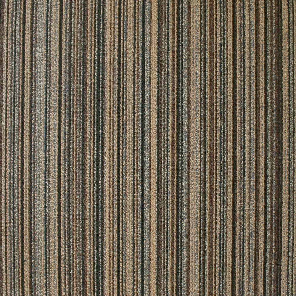 EuroTile Crown Heights Granite Loop 19.7 in. x 19.7 in. Carpet Tile (20 Piece/Case)