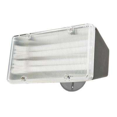 Post Mount Outdoor Dusk to Dawn Flood Light with Acrylic Lens
