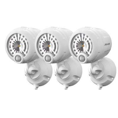 Wireless 120° White Motion Sensing Outdoor Integrated LED Security Spot Light
