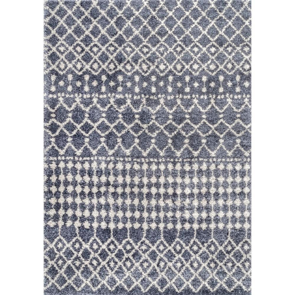 NuLOOM Moroccan Barbara Gray 5 Ft. 3 In. X 7 Ft. 7 In