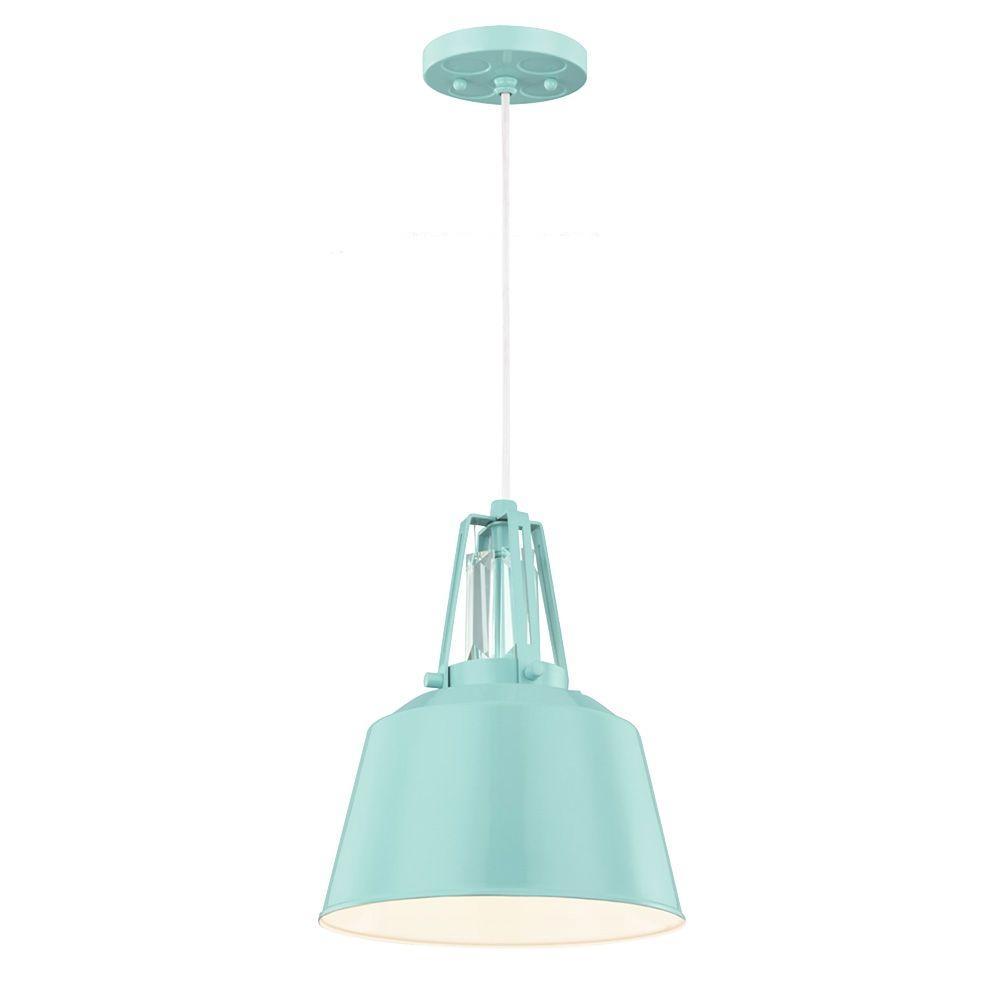 Feiss freemont 1 light hi gloss blue mini pendant p1305shbl the feiss freemont 1 light hi gloss blue mini pendant aloadofball Images
