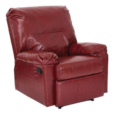 Kensington Recliner in Deluxe Merlot