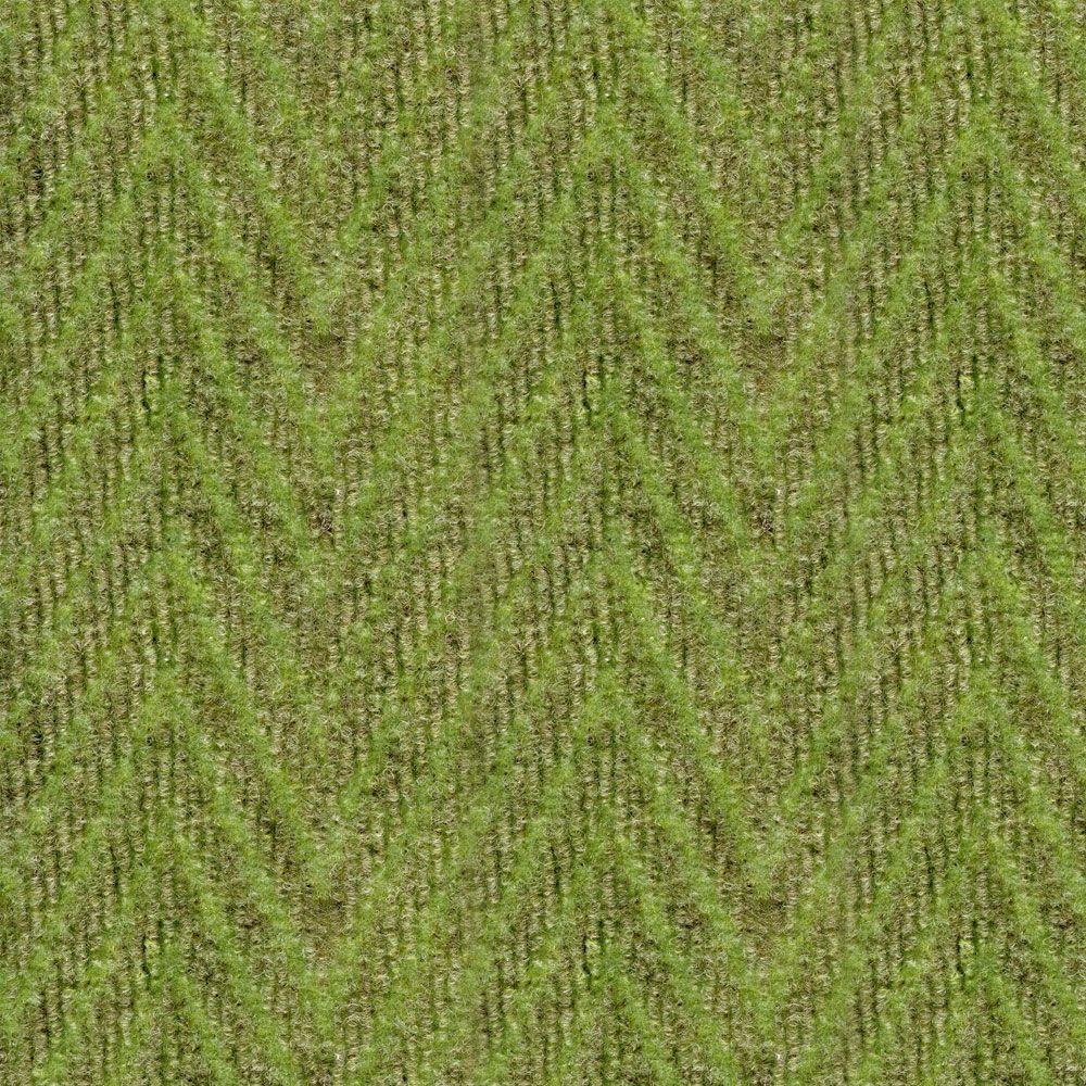 null Herringbone Taupe/Olive 18 in. x 18 in. Carpet Tile, 16 Tiles-DISCONTINUED