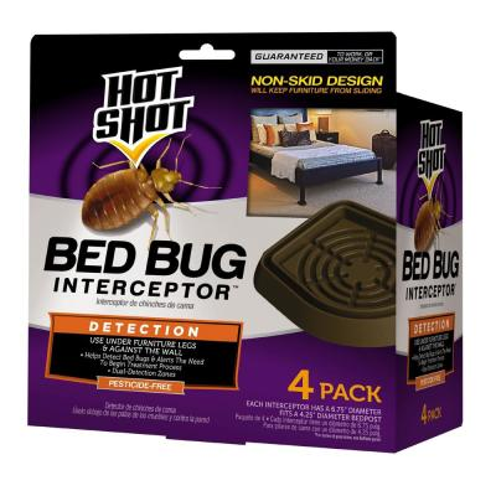 Bed Bug Interceptor Pesticide-Free Bed Bug Detection (4-Count)