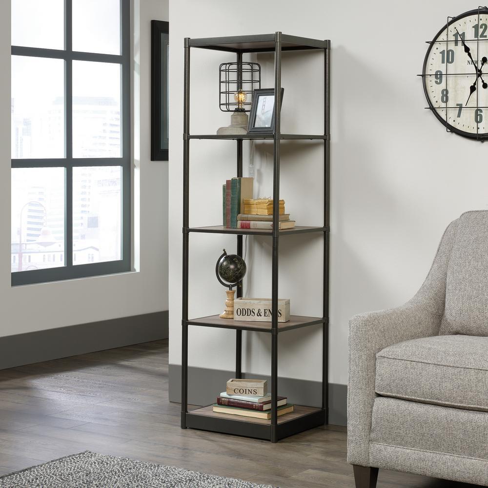 Barrister Lane Salt Oak Tower Bookcase