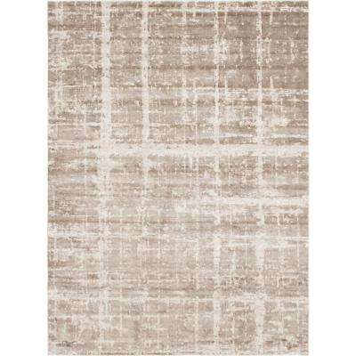 Uptown Collection by Jill Zarin Light Brown 9' x 12' Rug