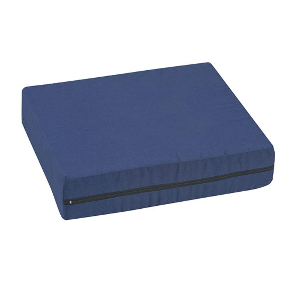 null Pincore Cushion Polyester/Cotton Cover in Navy