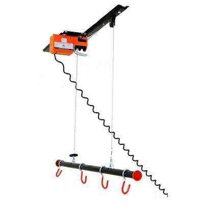 125 lb. Capacity Motorized Garage Ceiling Storage Lift for Bikes, Kayaks, Canoes and Golf Bags
