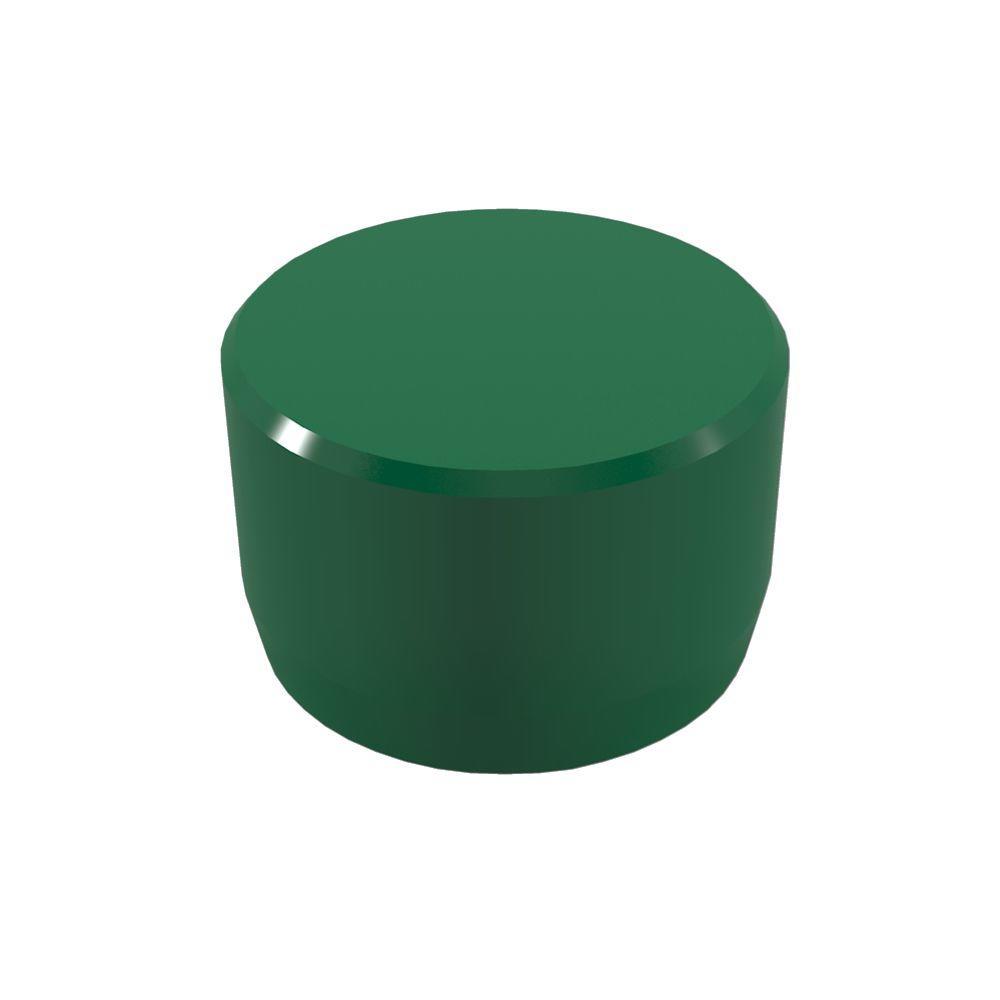 Formufit 1/2 In. Furniture Grade PVC External Flat End Cap