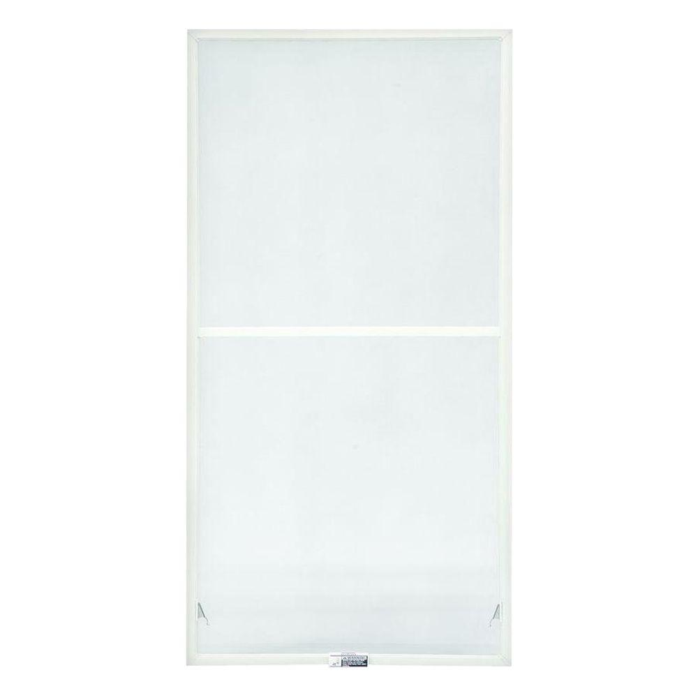 TruScene 27-7/8 in. x 38-27/32 in. White Double-Hung Insect Screen