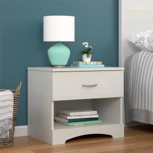 Ameriwood Crescent Point Ivory Nightstand by Ameriwood