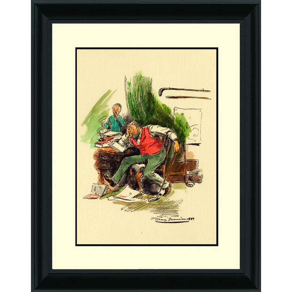 PTM Images 16.in x 18.75.in\'\'Ben Hogan at British Open 1953\'\' By PTM ...
