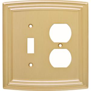 """BEIGE NICE LOT BBB CERAMIC COMBO SWITCH PLATE /& PLUG COVER PLATE 5/"""" X 5/"""" LT"""