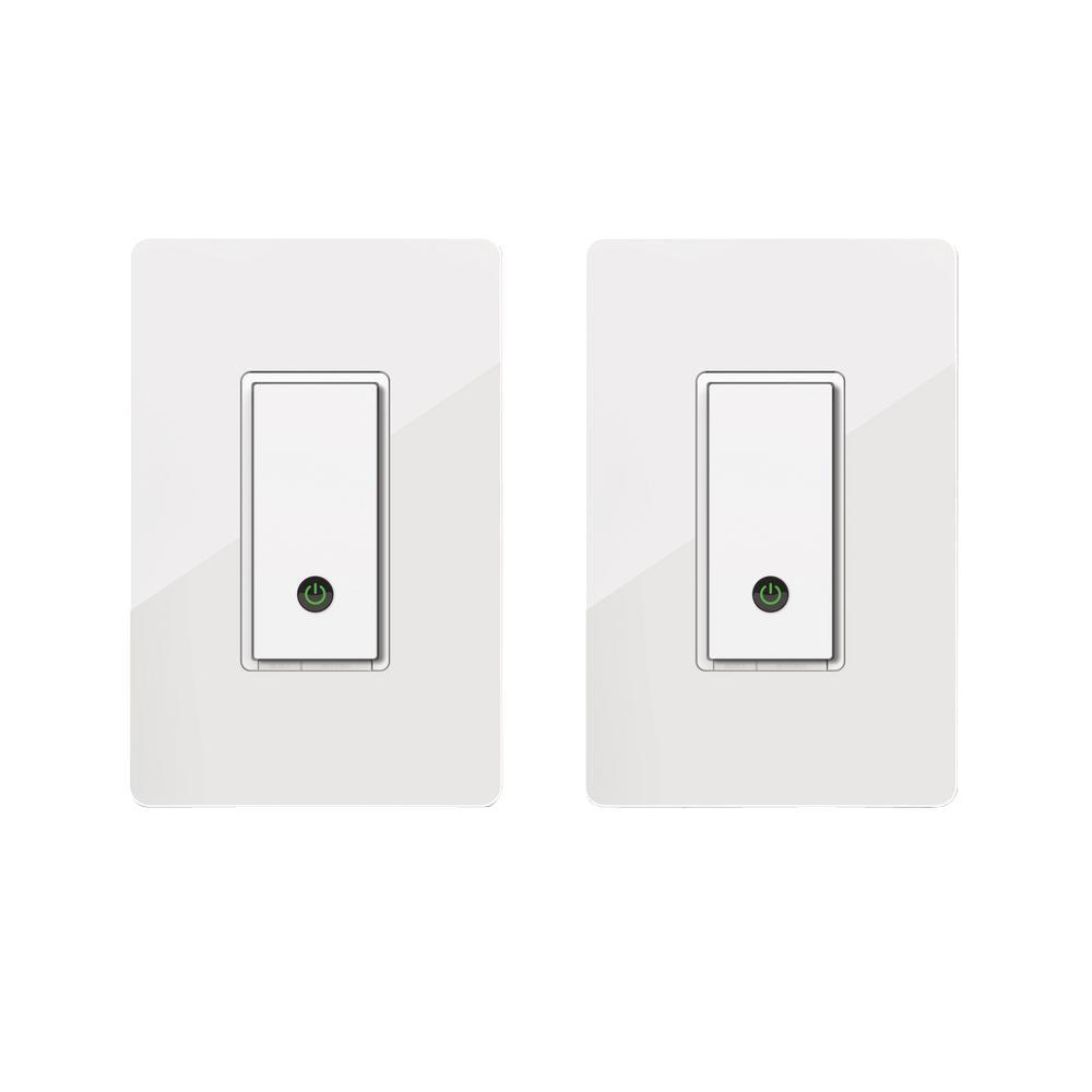 Belkin WeMo Wireless Light Control Switch (2-Pack)-F5Z0646