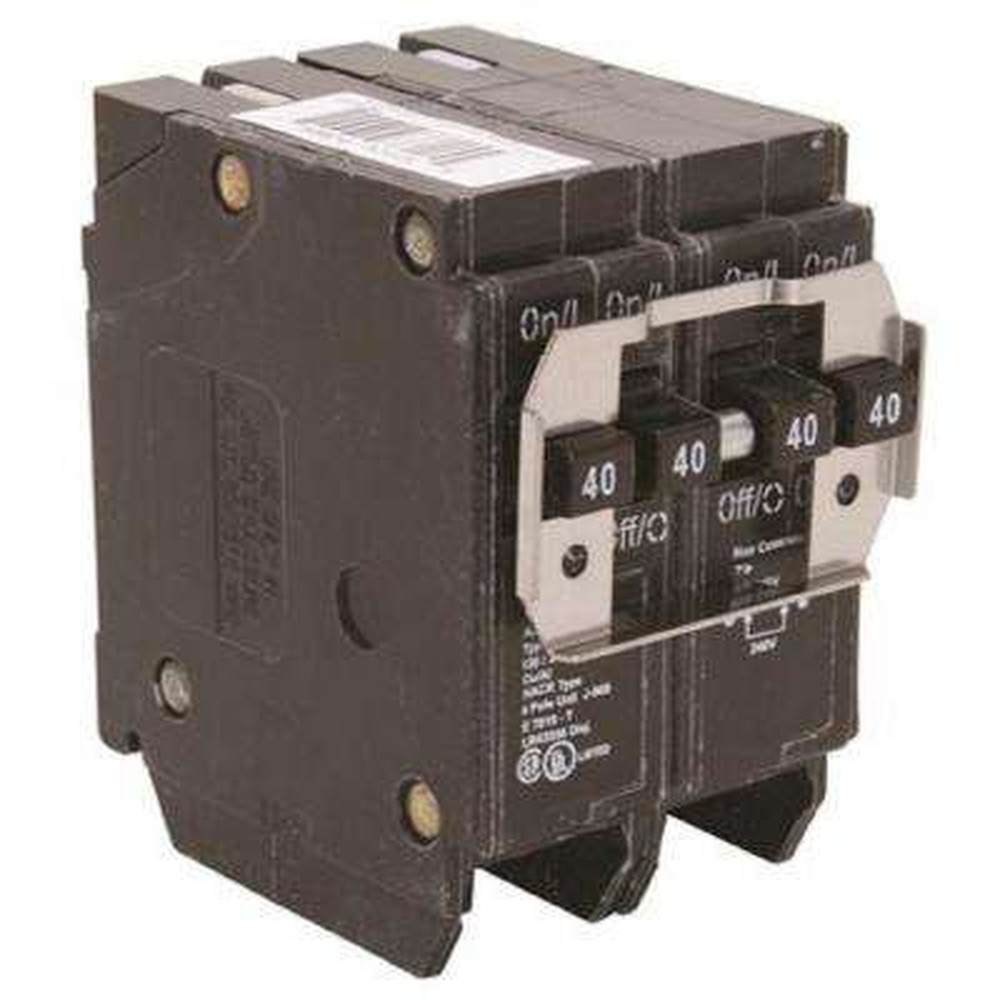 BR 2-40 Amp 2 Pole BQ (Independent Trip) Quad Breaker